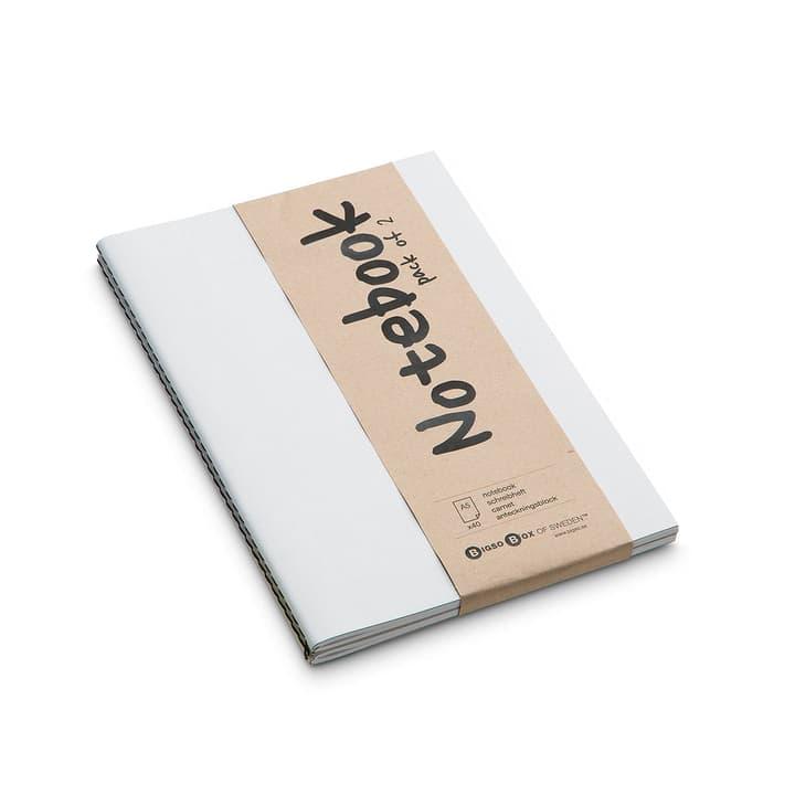 NOTE Notizbuch 2 Stk. A5 386158700000 Farbe Weiss Grösse B: 21.0 cm x T: 15.0 cm Bild Nr. 1