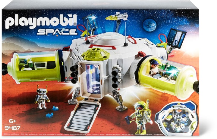PLAYMOBIL 9487 Station spatiale Mars 748000600000 Photo no. 1