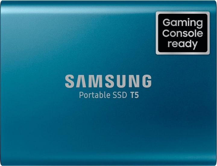 Portable SSD T5 500GB blue Hard disk Esterno SSD Samsung 798229900000 N. figura 1