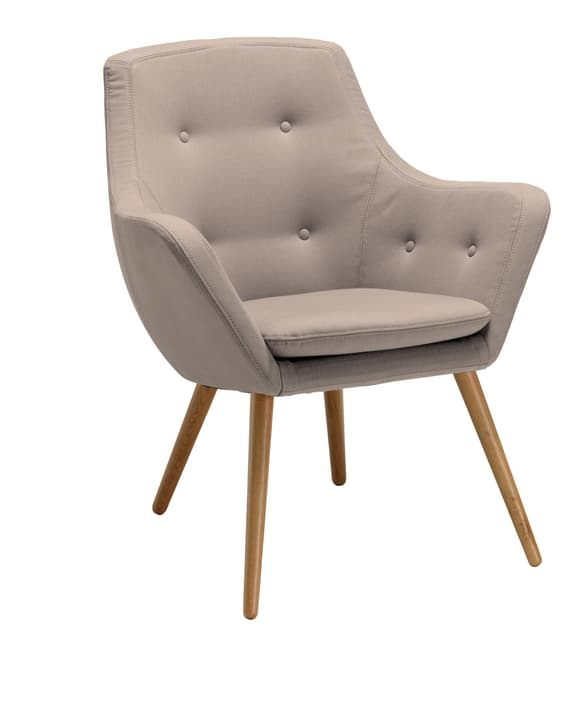 FLORIN Fauteuil 402441007013 Dimensions L: 73.0 cm x P: 70.0 cm x H: 82.0 cm Couleur Sable Photo no. 1