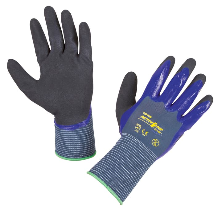 Gants ActivGrip CJ568 T. 8, lilas, immergé 2 fois 631283600000 Photo no. 1