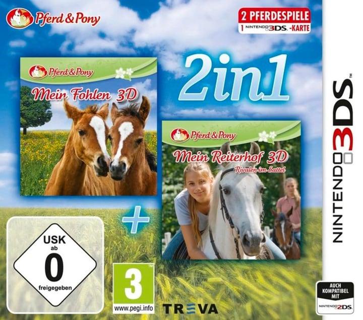 3DS - 2in1: Mein Fohlen + Reiterhof (D) Box 785300135812 Photo no. 1