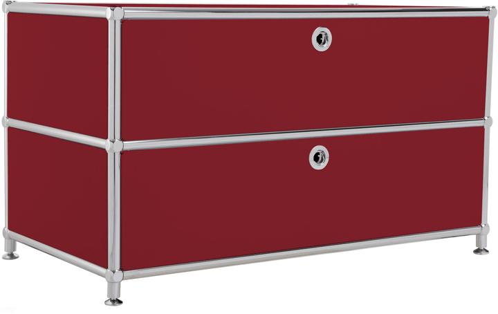 FLEXCUBE Buffet haut 401813610130 Dimensions L: 77.0 cm x P: 40.0 cm x H: 44.5 cm Couleur Rouge Photo no. 1