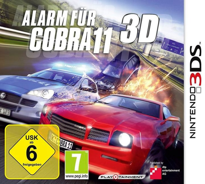 3DS - Alarm für Cobra 11 Physique (Box) 785300122354 Photo no. 1