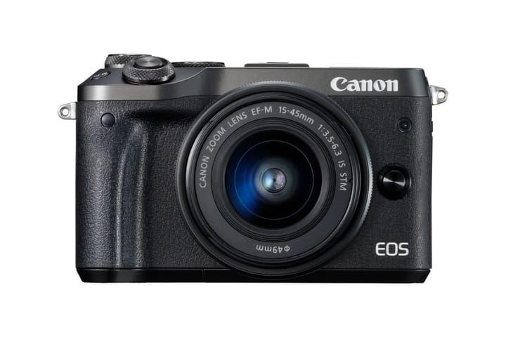 EOS M6 EF-M 15-45mm IS STM schwarz Systemkamera Kit Canon 793426900000 Bild Nr. 1