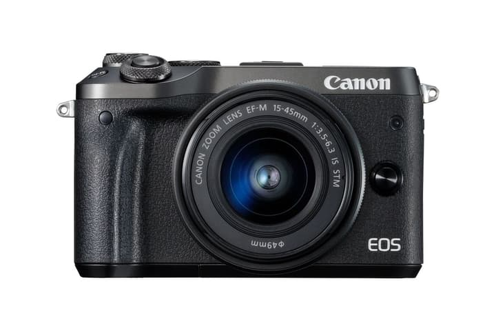 EOS M6 EF-M 15-45mm IS STM noir Canon 793426900000 Photo no. 1