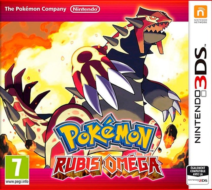 3DS - Pokémon Rubis Oméga Box 785300119079 Photo no. 1