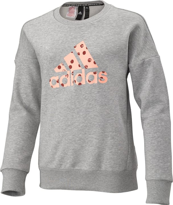 Must Haves Badge of Sport Sweatshirt Pull-over pour fille Adidas 466938316480 Couleur gris Taille 164 Photo no. 1