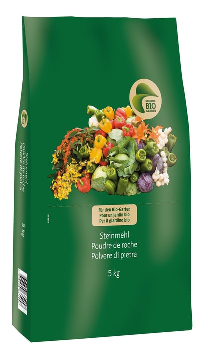 Polvere di pietra, 5 kg Migros-Bio Garden 658309100000 N. figura 1