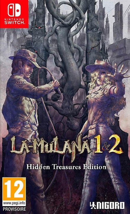 NSW - La-Mulana 1 & 2: Hidden Treasures Edition I Box 785300150286 Photo no. 1
