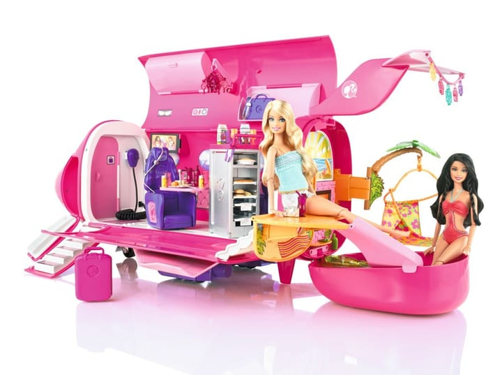 WR11 BARBIE GLAM JET Barbie 74598520000010 Bild Nr. 1