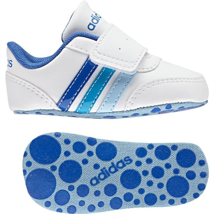 V Jog Crib Kinder-Freizeitschuh Adidas 460653918010 Farbe weiss Grösse 18 Bild-Nr. 1