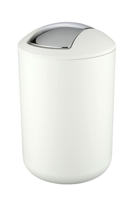 Schwingdeckeleimer Brasil L 6.5 Liter weiss WENKO 674075500000 Bild Nr. 1