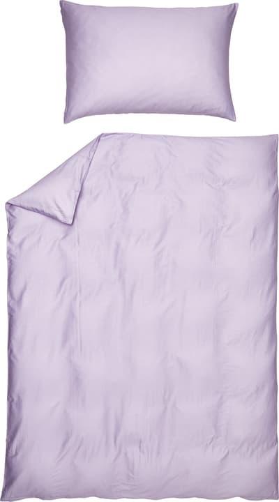 NARCISCO Federa per cuscino raso 451306810946 Colore Lilla Dimensioni L: 100.0 cm x A: 65.0 cm N. figura 1