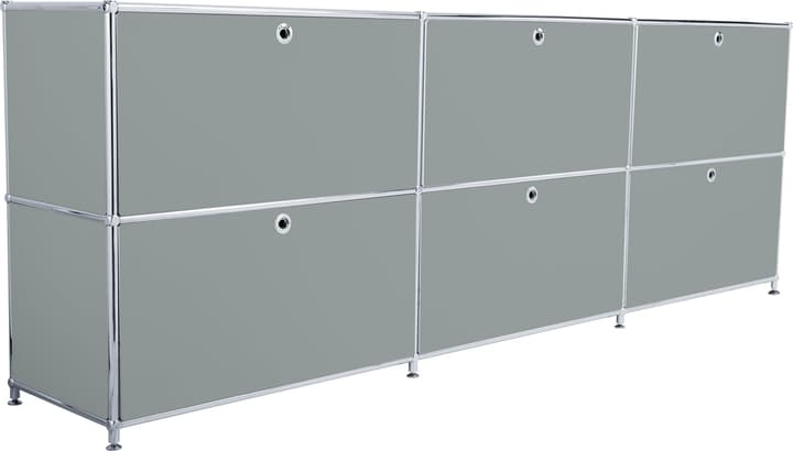 FLEXCUBE Buffet 401809700080 Dimensions L: 227.0 cm x P: 40.0 cm x H: 80.5 cm Couleur Gris Photo no. 1