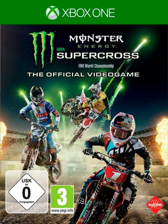 Monster Energy Supercross - The official Physique (Box) 785300131239 Photo no. 1