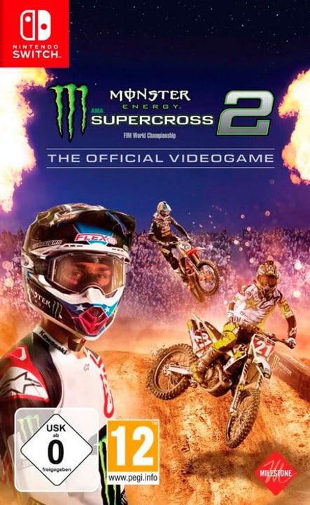 NSW - Monster Energy Supercross - The Official Videogame 2 Box 785300140763 N. figura 1