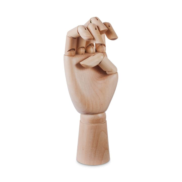 WOODEN HAND / M Figure décorative HAY 386286900000 Dimensions L: 8.0 cm x H: 18.0 cm Couleur Brun Photo no. 1