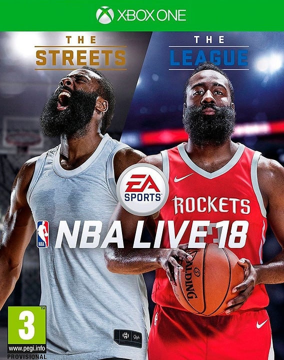 Xbox One - NBA Live 18: The One Edition Physique (Box) 785300129709 Photo no. 1