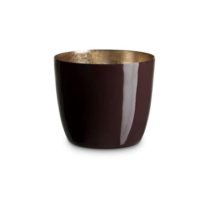 LEBIA Teelichthalter 396090500000 Grösse B: 10.0 cm x T: 10.0 cm x H: 8.5 cm Farbe Braun Bild Nr. 1