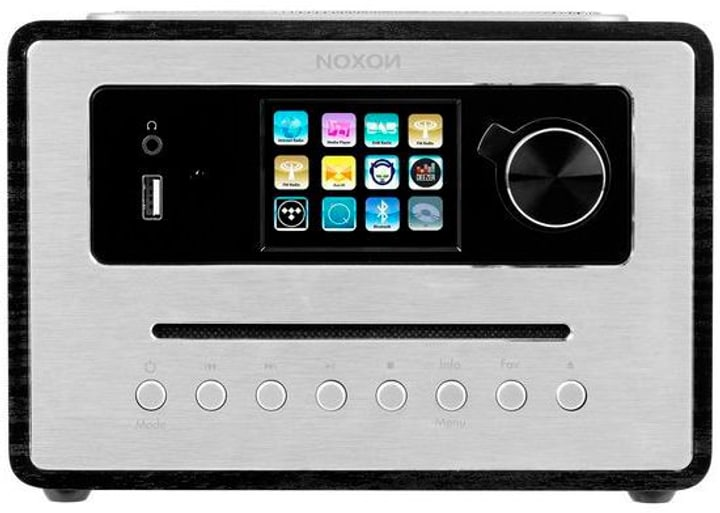 iRadio 500 CD - Schwarz Micro HiFi System Noxon 785300151106 Bild Nr. 1