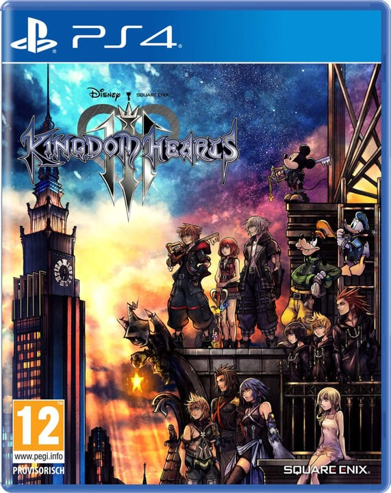 PS4 - Kingdom Hearts 3 Box 785300139666 Langue Français Plate-forme Sony PlayStation 4 Photo no. 1