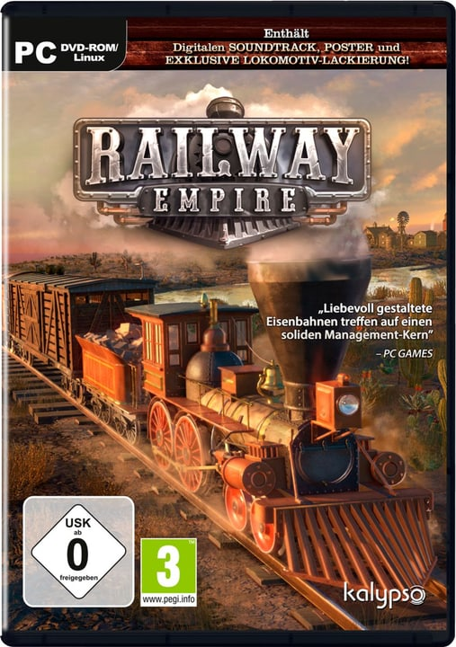 PC - Railway Empire - D Physisch (Box) 785300131663 Bild Nr. 1