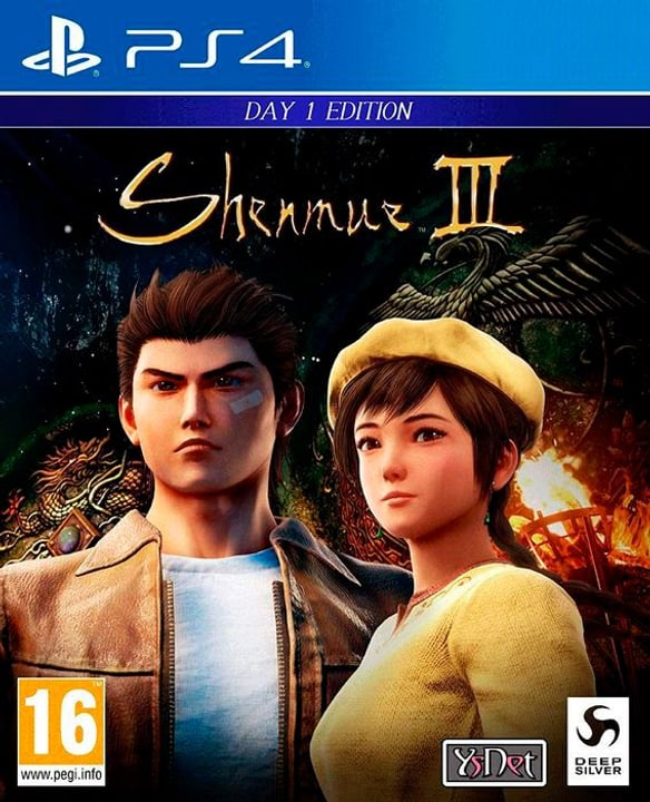 PS4 - Shenmue III Day One Edition D Box 785300148183 N. figura 1