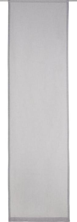 SUELA Flächenvorhang 430575830480 Farbe Grau Grösse B: 60.0 cm x H: 245.0 cm Bild Nr. 1
