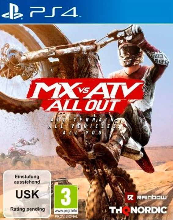 PS4 - MX vs. ATV All Out I Fisico (Box) 785300131997 N. figura 1