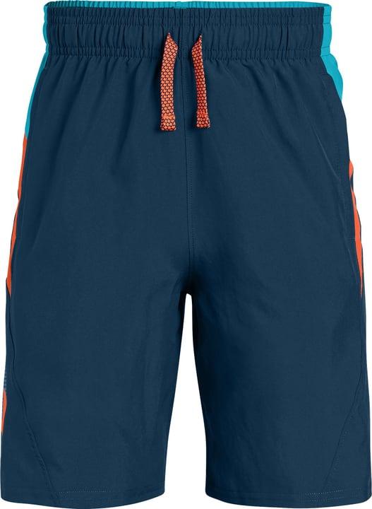 Evolve Woven Short Short pour garçon Under Armour 464576112865 Couleur petrol Taille 128 Photo no. 1