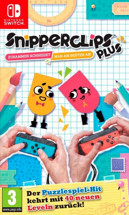 NSW - Snipperclips Plus - Zusammen schneidet man am besten ab! D Physique (Box) 785300130166 Photo no. 1
