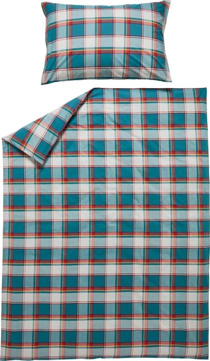 RAMIREZ Federa per cuscino in percalle 451291510665 Colore Petrolio Dimensioni L: 65.0 cm x A: 65.0 cm N. figura 1