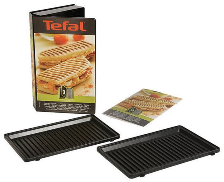Plattenset Snack Collection Panini Sandwichmaker Tefal 785300137431 Bild Nr. 1