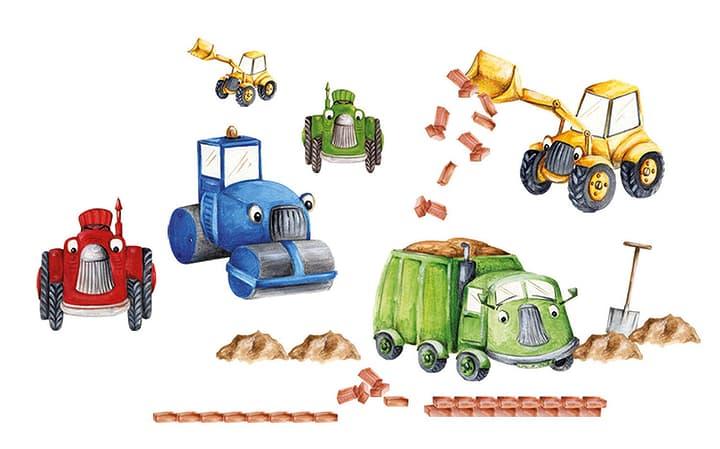 TRUCKS Sticker 433001001000 Grösse B: 70.0 cm x T: 50.0 cm x H:  Bild Nr. 1