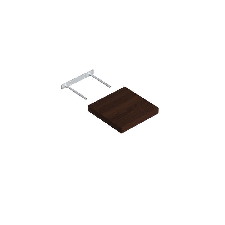 Mensola Design legno wenge velano 606077700000 N. figura 1