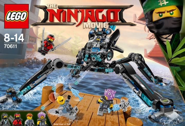 Lego Ninjago L'Hydro-Grimpeur 70611