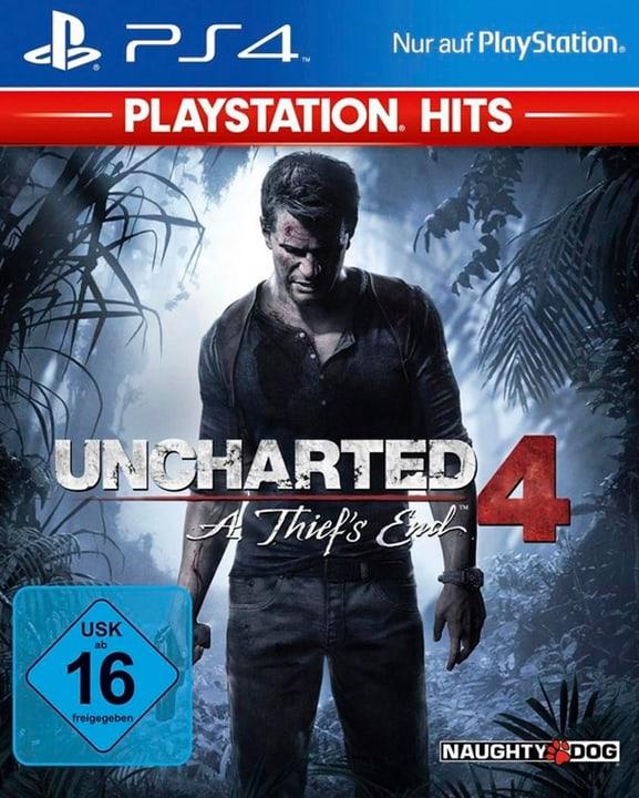 PS4 - Playstation Hits: Uncharted 4 - A Thief Box 785300137789 Bild Nr. 1