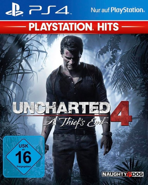 PS4 - Playstation Hits: Uncharted 4 - A Thief Physisch (Box) 785300137789 Bild Nr. 1