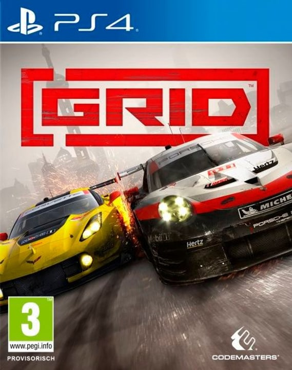 PS4 - GRID D Box 785300145969 Photo no. 1