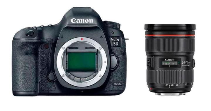EOS 5D Mark IV + EF 24-70mm 2.8L Kit appareil photo reflex Canon 785300126137 Photo no. 1