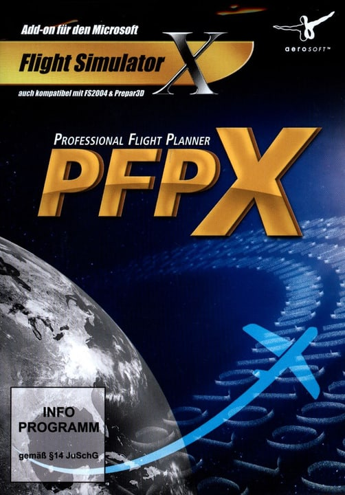 PC - Professional Flight Planner PFPX Fisico (Box) 785300128485 N. figura 1