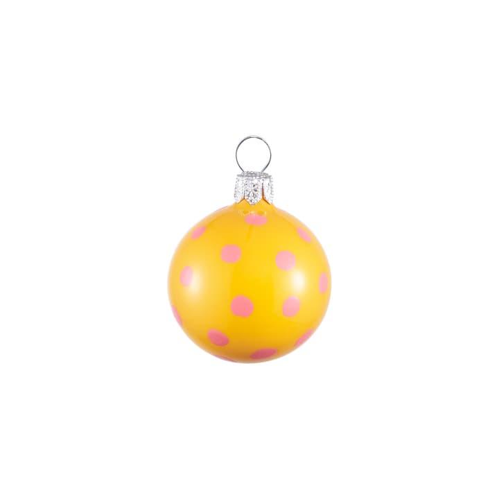 MIGUEL Weihnachtskugel 390151200000 Farbe Gelb Bild Nr. 1