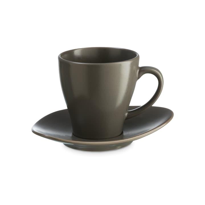 CUBA Tazza da caffé on piattino ASA 393219702080 Colore Grigio Dimensioni L: 8.5 cm x P: 8.5 cm x A: 9.0 cm N. figura 1