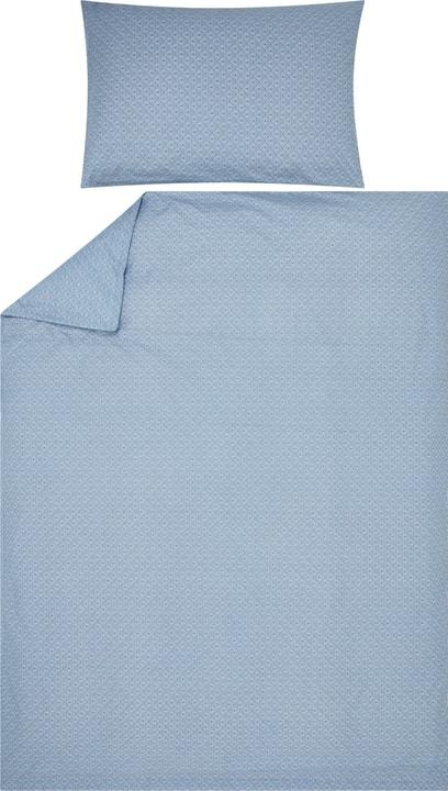 ELIOTTA Taie d'oreiller percale 451194110640 Couleur Bleu clair Dimensions L: 65.0 cm x H: 65.0 cm Photo no. 1