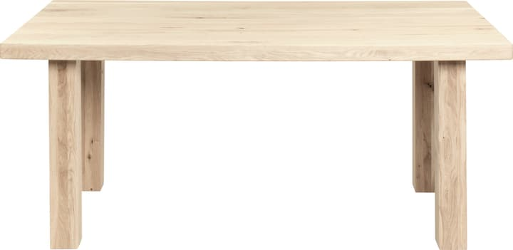 LEONE Esstisch 402248800000 Grösse B: 180.0 cm x T: 90.0 cm x H: 76.0 cm Farbe Natur roh Bild Nr. 1
