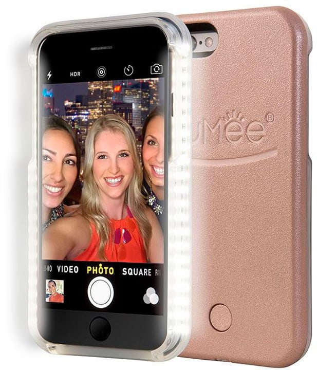 LuMee Selfie Cover iPhone 6 Rose Gold 785800404934 Photo no. 1