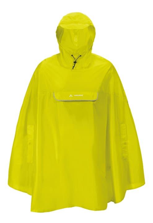 Valdipino Poncho Unisex-Regenponcho Vaude 461337800462 Farbe neongrün Grösse M Bild-Nr. 1