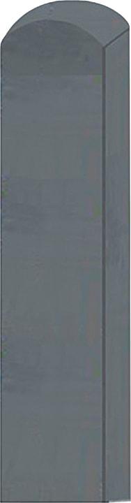 Palo quadrato con testa arrotondata 647112200000 Taglio L: 190.0 cm x L: 9.0 cm x P: 9.0 cm N. figura 1