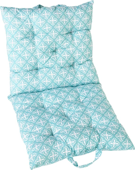 LARS cuscino sedia 450741604044 Colore Turchese Dimensioni L: 45.0 cm x P: 90.0 cm N. figura 1